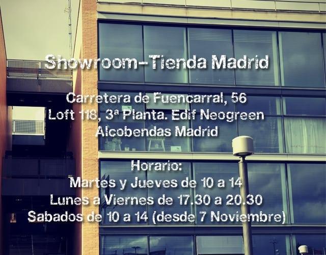 Showroom-Tienda en Madrid de coordinanos