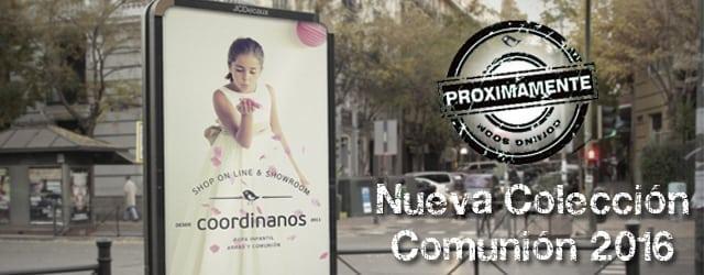 Nueva Colección de Vestidos de Comunión 2016 coordinanos