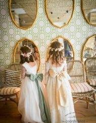 vestidos de comunion Coordinanos espaldas con escotes cuadrados 1