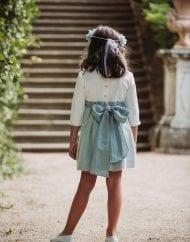 Coordinanos.vestido plumeti-Lisel vista 3